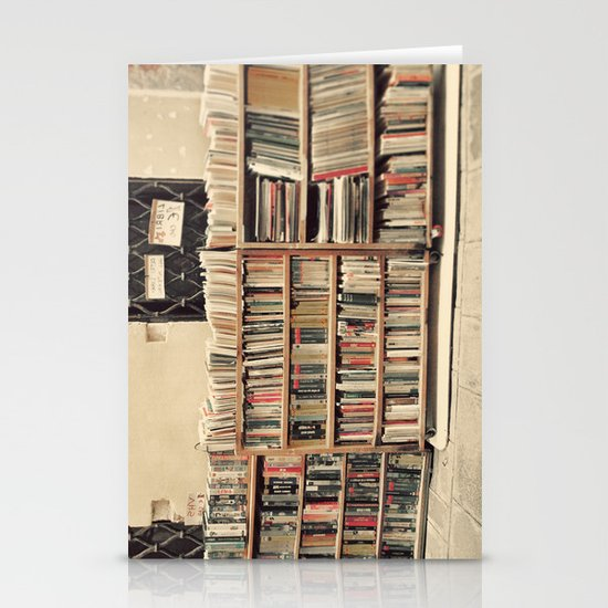 Old Books Stationery Card