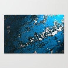 Concretely Cyan Canvas Print