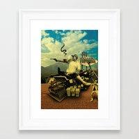 Hunter S Framed Art Print