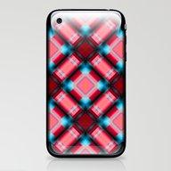 Square Pattern Serie 1 R… iPhone & iPod Skin