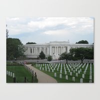 Arlington National Cemet… Canvas Print