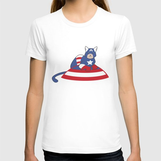 Captain AmeriCAT: The First Catvenger T-shirt