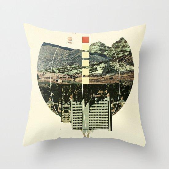 Waltz for Koop Throw Pillow