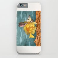iPhone & iPod Case featuring Foxface rabbit fish by Megs stuff...