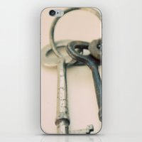 Skeleton Keys iPhone & iPod Skin
