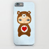 iPhone & iPod Case featuring A Boy - Tenderheart Bear by Christophe Chiozzi