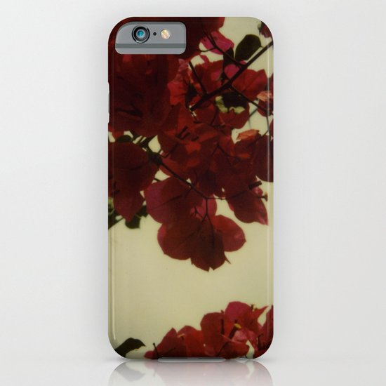 Floral Formula Polaroid iPhone & iPod Case