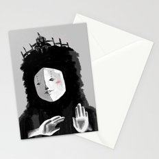 Lovely Woman Stationery Cards
