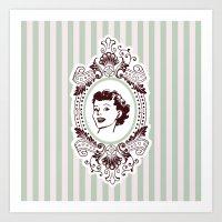 Pretty Woman Art Print