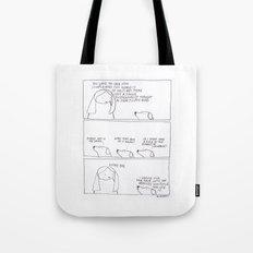 existentialist species Tote Bag