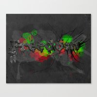 Fragments Of Freedom Canvas Print
