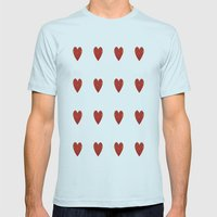 XO Mens Fitted Tee Light Blue SMALL