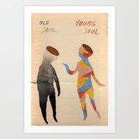 Old Soul, Young Soul Art Print
