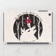Sterek: He Who Runs With Wolves iPad Case
