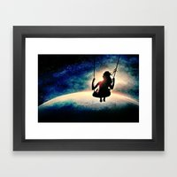 care-free Framed Art Print