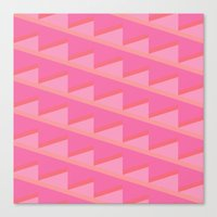 Pink Ascent Canvas Print