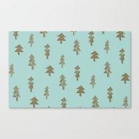 Tree pattern Canvas Print