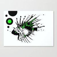 Scorpleonfish 1.2 Canvas Print