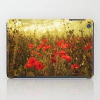 Poppy Glow iPad Case