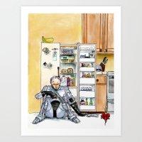 BHC - ROBOCOP Art Print