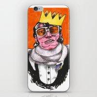 King Choker iPhone & iPod Skin