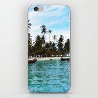 san blas tropical island iPhone & iPod Skin