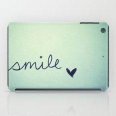 s  m  i  l  e  iPad Case