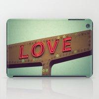 Love Signs iPad Case