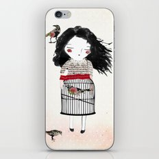 Lady Bird iPhone & iPod Skin