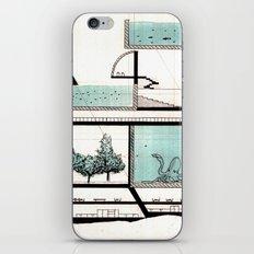 octopus architecture iPhone & iPod Skin