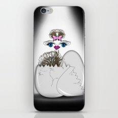 newborn ostrich iPhone & iPod Skin
