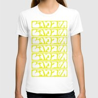 Banana Womens Fitted Tee White SMALL