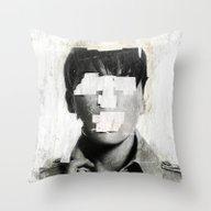 Faceless | Number 02 Throw Pillow