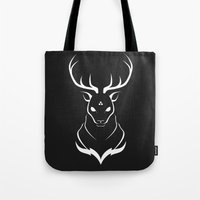 Pathfinder (Black) Tote Bag