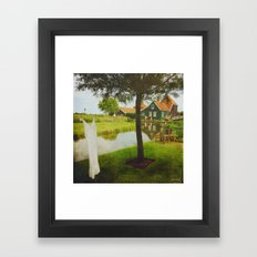 romantic Holland ^_^  Framed Art Print