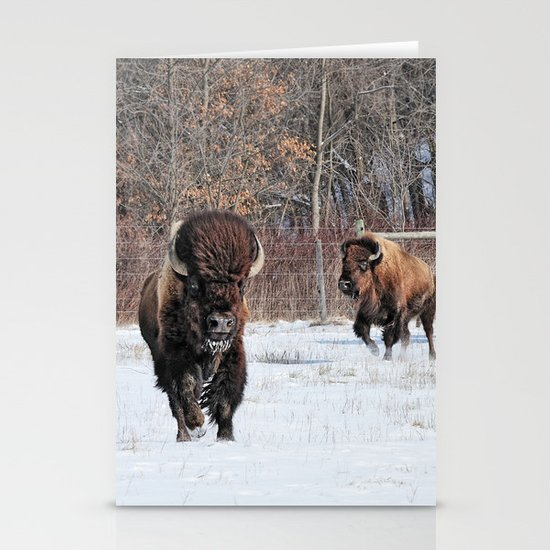 Running Wild Stationery Card