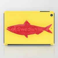 Swedish Fish iPad Case