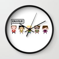 The Big Bang Theory Pixe… Wall Clock