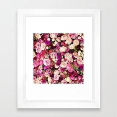Kate Spade - Roses Framed Art Print