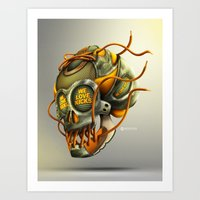 We Love Kicks Art Print