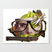 Make Me Perfect   Collag… Canvas Print