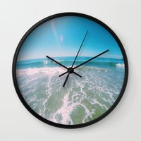 Santa Claus Lane Wall Clock