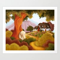 Pathway to Home Art Print