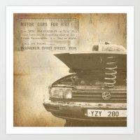 Cheap Car Hire! Art Print