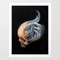 Art Print featuring Kymophobia by Kit King & Oda