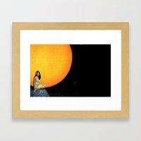 Hawaiian Sun Framed Art Print