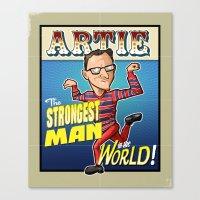Artie! Canvas Print