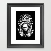 Sentenced to Death Framed Art Print
