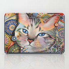 Aslan ... Abstract cat art iPad Case