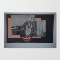 Canvas Print featuring industry parts 2 by Marisabel Lavastida